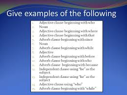 adjective clauses ppt video online download