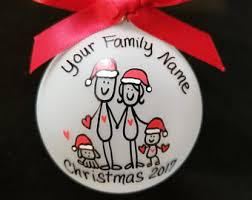 Blank Ornaments To Personalize Family Ornament