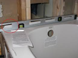 Foam Under Bathtub Stuck On Bathtub Installation Plumbing Diy Home Improvement
