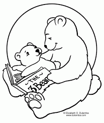 printable pictures polar bears coloring