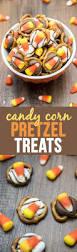 halloween pretzel candy corn pretzel treats like mother like daughter