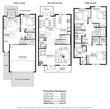 3 story townhouse floor plans bold ideas 10 three story townhouse floor plans 65 best ideas