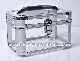 Vanity Box New Acrylic Transparent Beauty Box Make Up Jewellery Nail