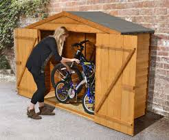 inspiring bike storage shed design ideas to secure your bike and