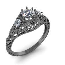 art deco rings and filigree rings art deco engagement rings and