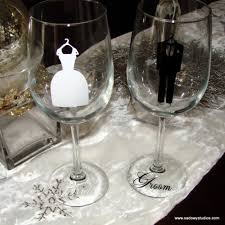personalized glasses wedding diy and groom wedding party glasses customized and