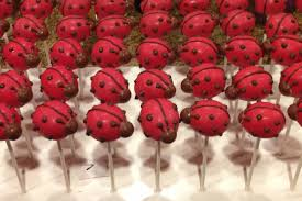 ladybug cake pops february cake pops let them eat pops
