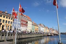 Disney Flag Disney Cruise Line Northern Europe Cruise Arrival In Copenhagen