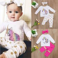 baby headbands uk uk new unicorn newborn baby girl clothes tops