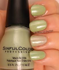 sinful colors sheer trio nail polishes be happy and buy polish