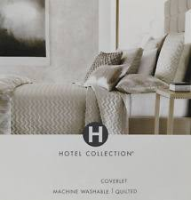 Beige Coverlet Hotel Collection Geometric Quilts Bedspreads U0026 Coverlets Ebay