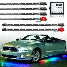 Interior Car Led Light Kits Underbody Interior Advanced 130 Mode Million Color 12pc Led Car