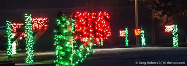 the lope hutchinson kansas christmas lights 2016