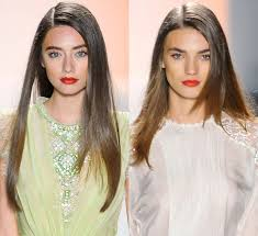 a side part with long hair and a swoop and a cross side part hairstyles for women
