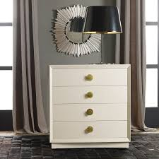 modern history home mod bedside chest ivory