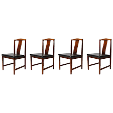 warehouse of tiffany black upholstered dining room chairs set of 4