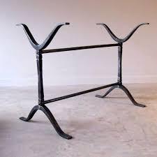 best 25 wrought iron table legs ideas on pinterest iron table