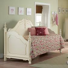 girls white beds soft green wall girls day bed bedding with white bed frame on the