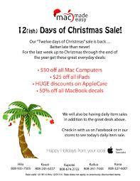 mac made easy 12 days of christmas sale mac made easy