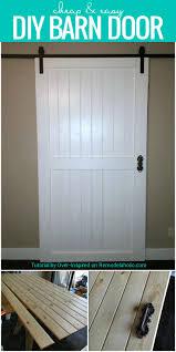 35 diy barn doors rolling door hardware ideas barn doors