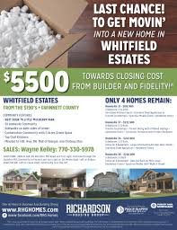 just a few homes remain at whitfield estates richardson housing