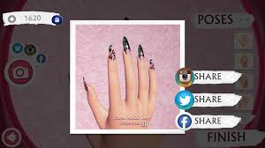 cute nail art designs game 3d android apps on google play