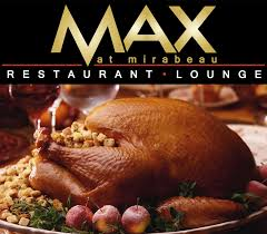 traditional thanksgiving dinner buffet max at mirabeau