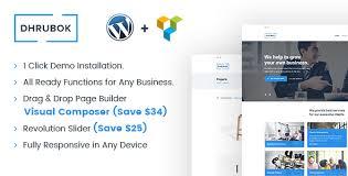 dhrubok v1 2 ultimate business wordpress theme themelock com