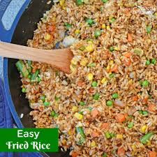 easy fried rice restaurant style savory experiments
