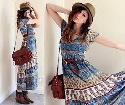 moda boho garota de estilo moda boho