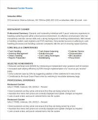 How To Make A Resume For A Restaurant Job Download Restaurant Resume Template Haadyaooverbayresort Com