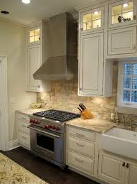 Brick Kitchen Backsplash Encarco - Kitchen with brick backsplash