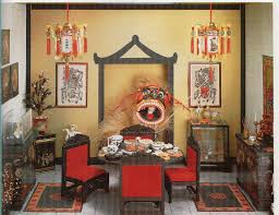 exciting chinese new year decoration completing party celebration
