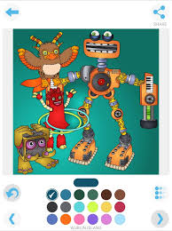 My Singing Monster My Singing Monsters Coloring Android Apps On Google Play