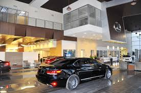 lexus showroom scanlon auto opens lexus dealership state of the facility