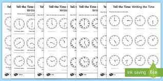 free worksheets time assessment worksheets ks2 free math