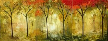 original abstract modern landscape made made to order paintings original modern forest landscape