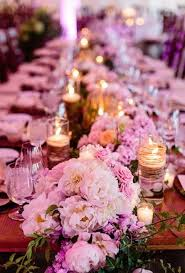 90 breathtaking green and flower wedding table runners happywedd com