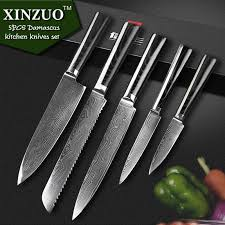 quality kitchen knives high quality chef knives set 73 layers japanese vg10 damascus