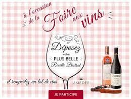 jeux de concours de cuisine jeu concours cuisine actuelle vins luberon ventoux vins amédée