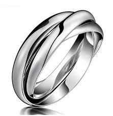 model wedding ring fashion day jewelry western style model wedding ring tone