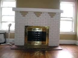 paint colors living room red brick fireplace best painted mantels