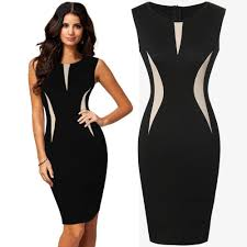womens cool beautiful ladies formal party pencil dress business