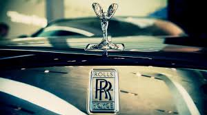 luxury cars logo car rolls royce brand closeup the spirit of ecstasy logo
