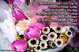 Wishing Happy Birthday To Wishing Very Happy Birthday
