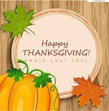 thanksgiving material 4 designer thanksgiving pumpkin text background vector material