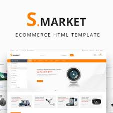 free themeforest smarket ecommerce shop html template template
