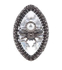rings crystal swarovski images Alexander mcqueen swarovski crystal spider ring jpg
