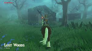 of the how to get through the lost woods the legend of breath of