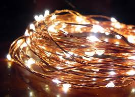 copper led starry string lights norsis home and garden